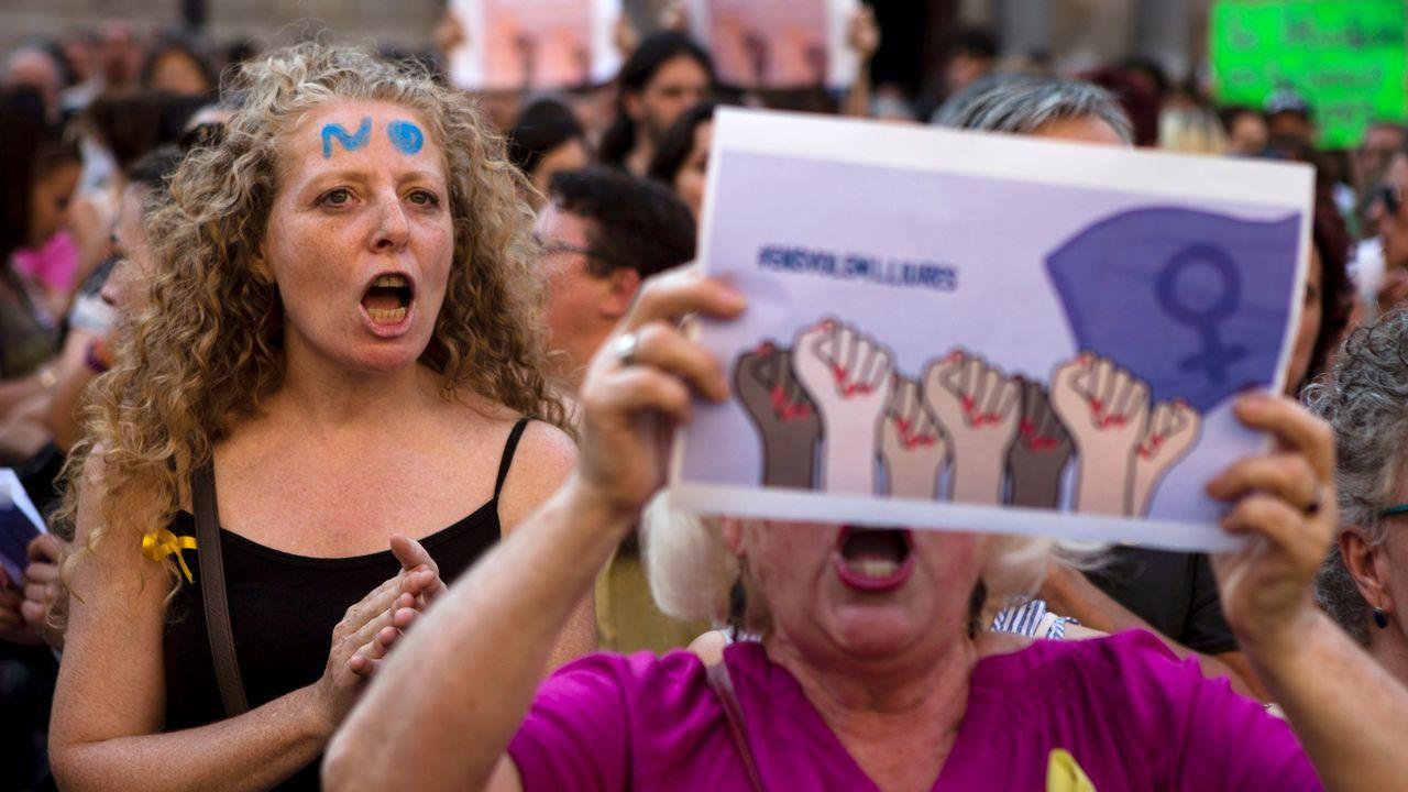 La respuesta en las calles al auto de libertad de La Manada