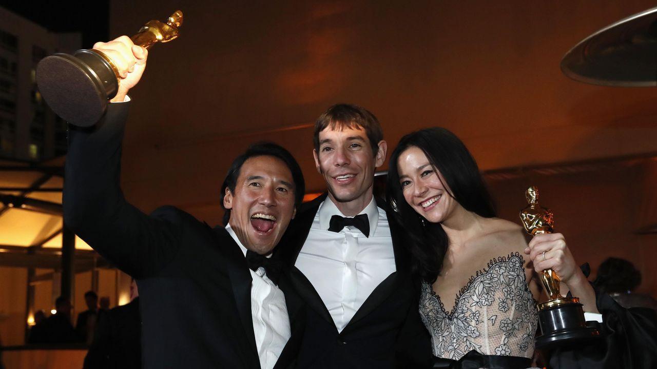 Elizabeth Chai Vasarhelyi, Jimmy Chin y Evan Hayes