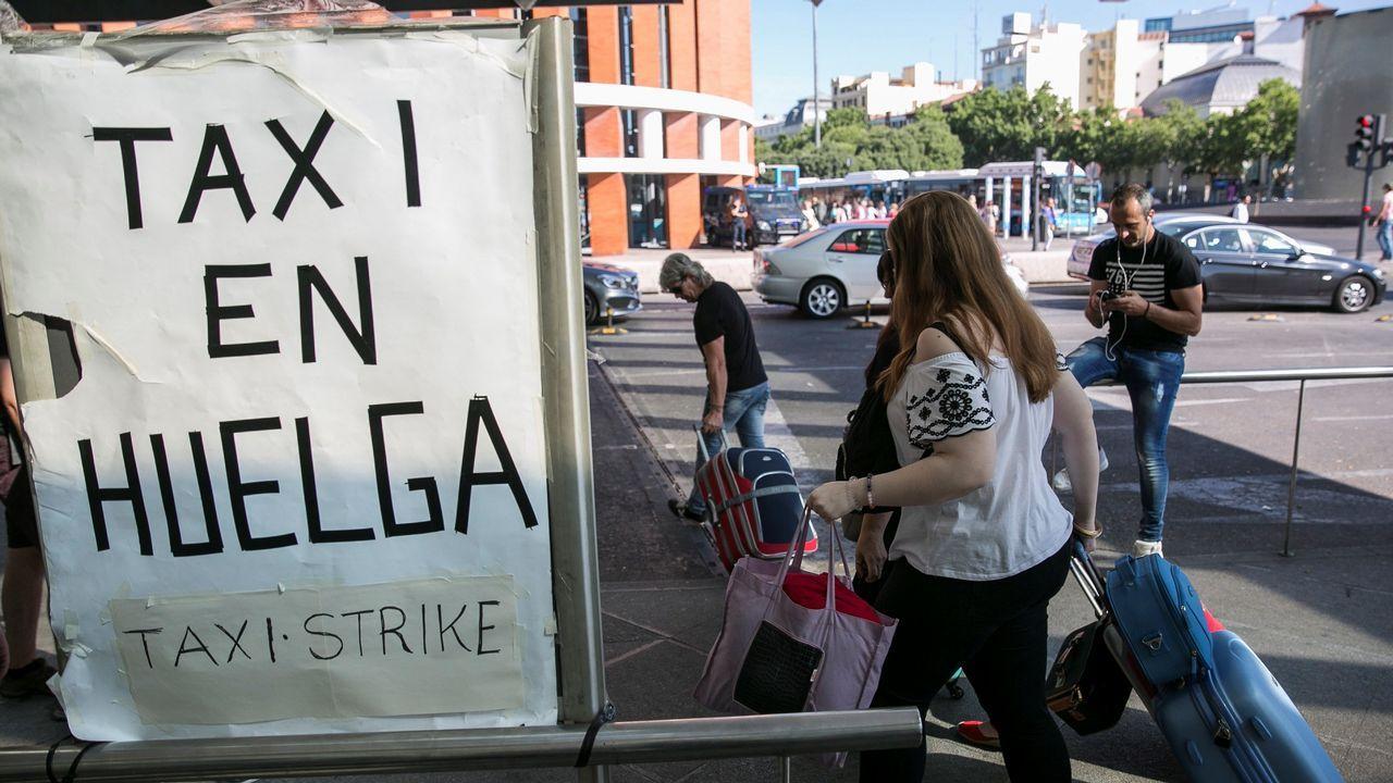Huelga en Madrid