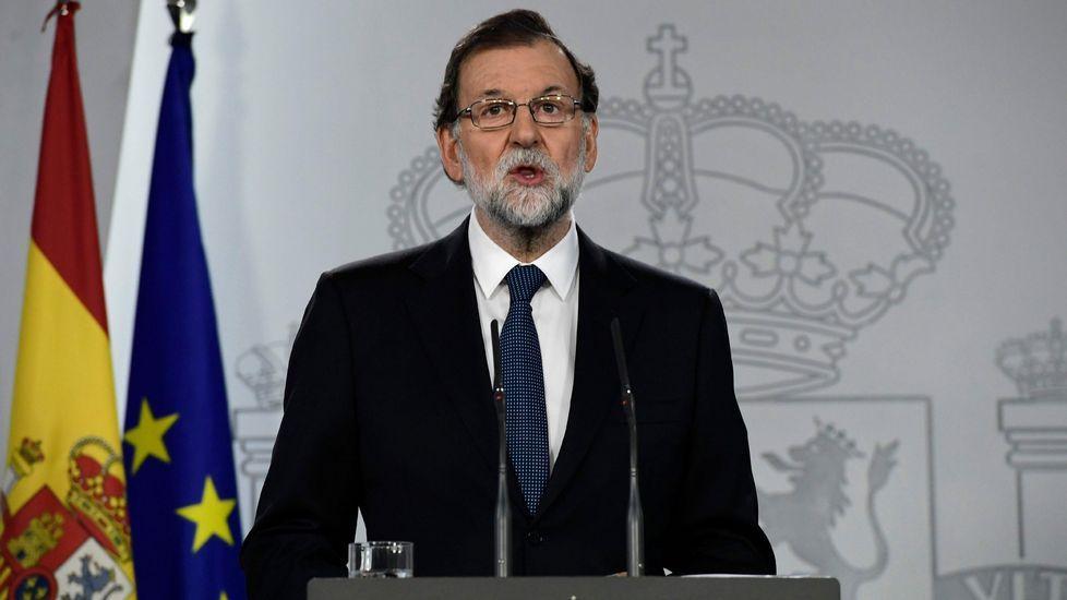 La comparecencia de Rajoy, íntegra.