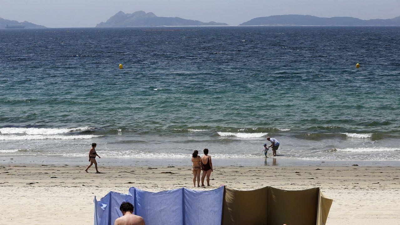 .Samil, la playa por excelencia de Vigo, supera las 2.500 menciones en Instagram