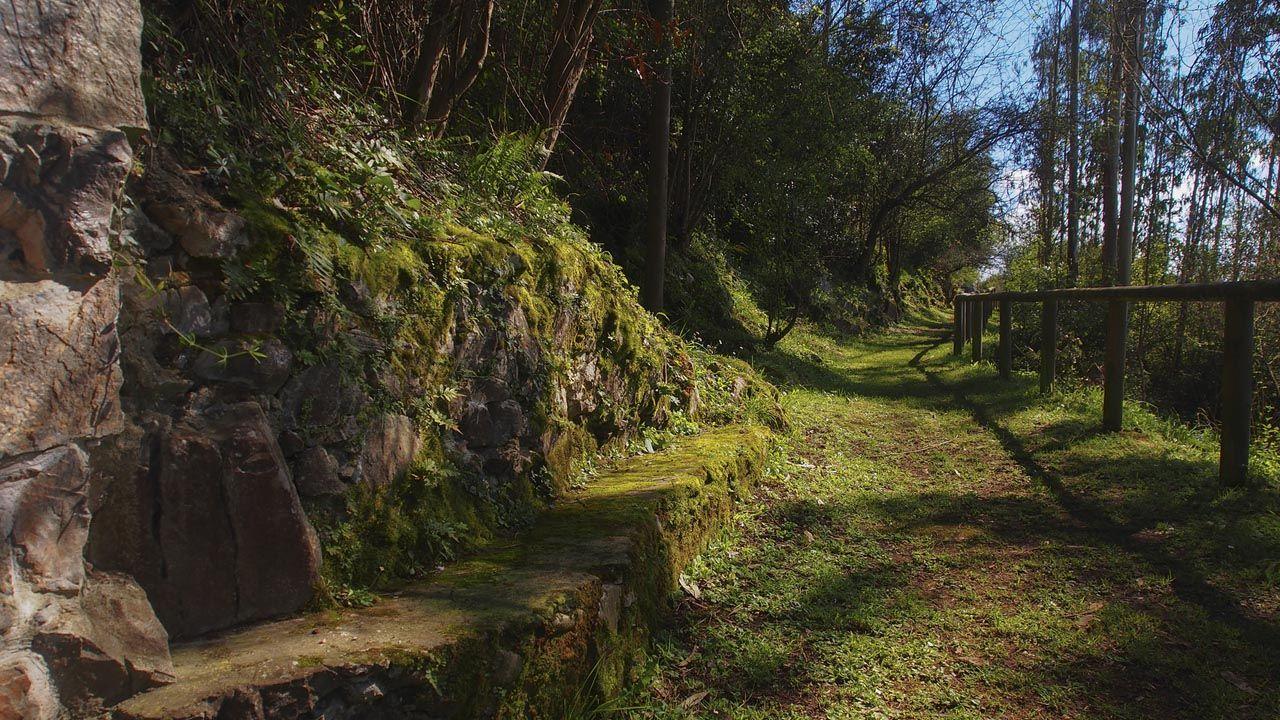 Entrada a la cueva La Peña