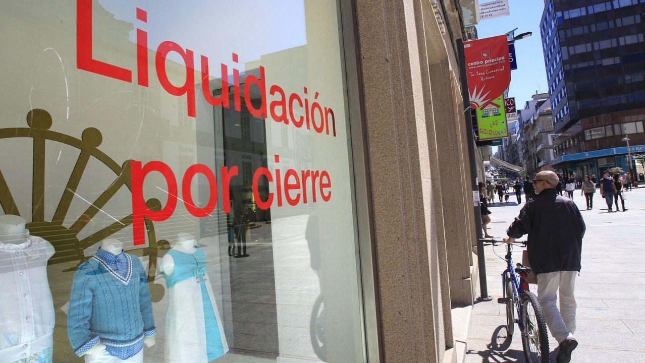 La tienda de Pili Carrera en Vigo cerró sus puertas hace ya cuatro años
