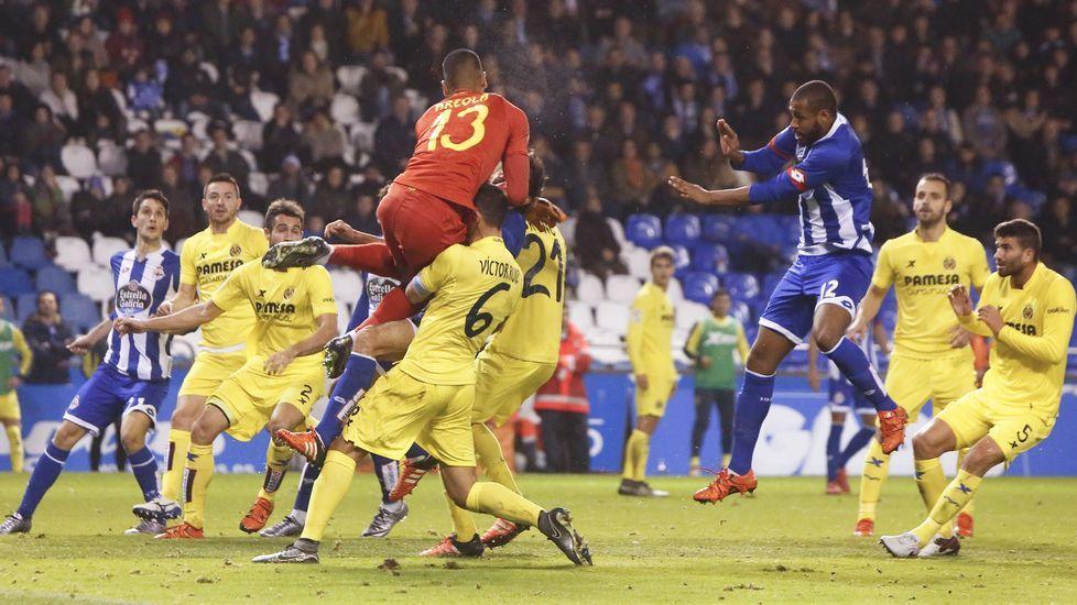 El Deportivo-Villarreal, en fotos.