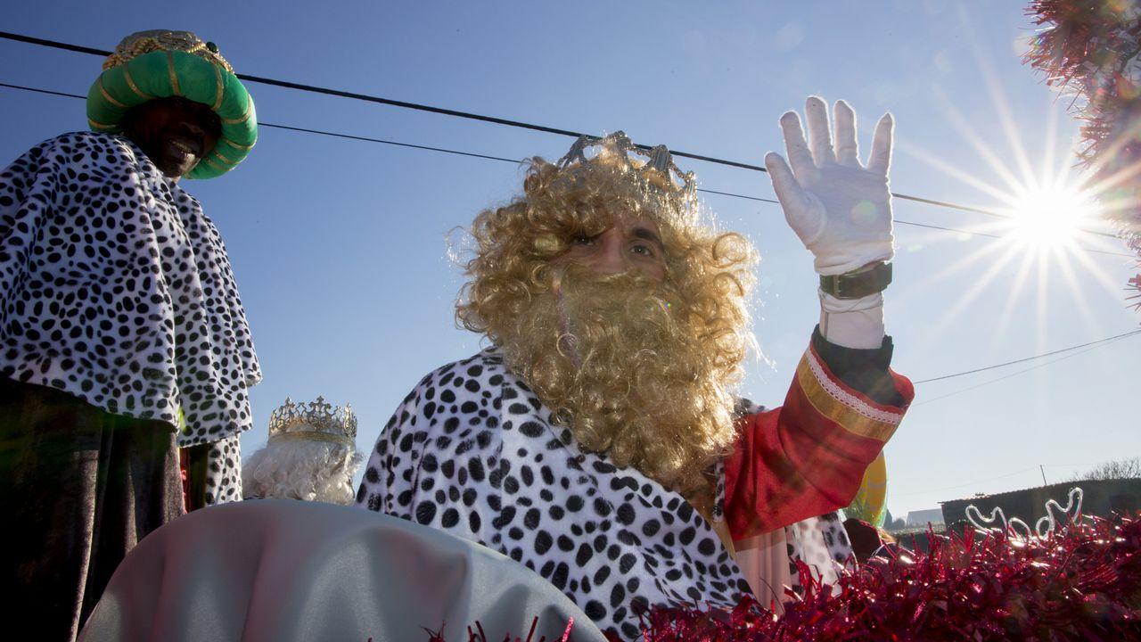 Los Reyes, de visita por tierras de Vimianzo