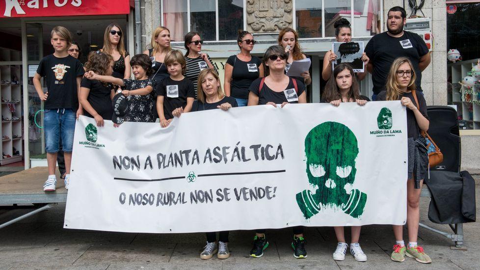 .El año pasado hubo una concentración de protesta contra la licencia de la planta asfáltica