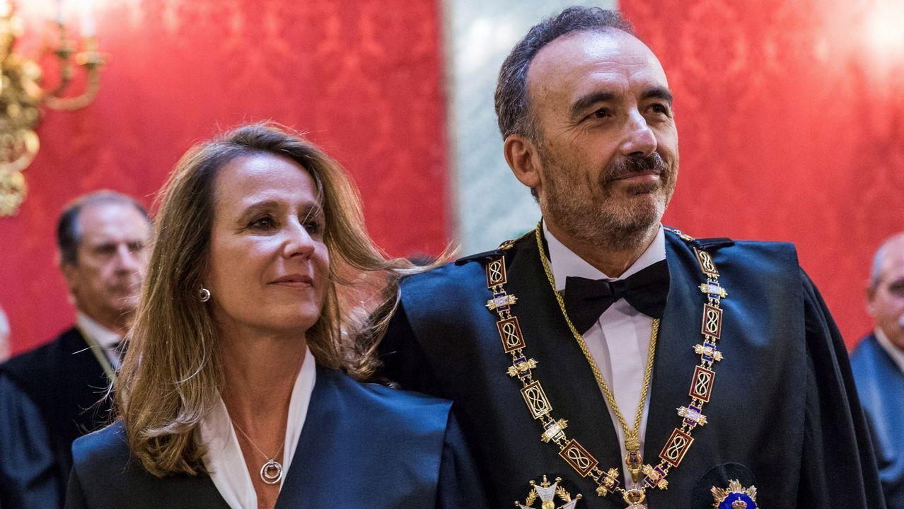 Así fue la caída de la Reina del Norte.La magistrada Carmen Lamela, junto a Manuel Marchena, presidente de la Sala de lo Penal del Supremo