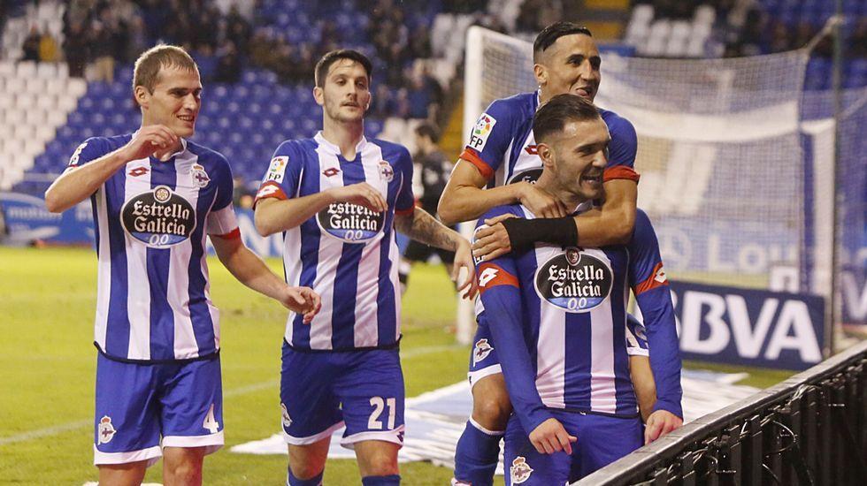 El Deportivo-Eibar, en fotos
