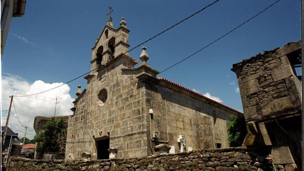 Alto do Rodicio, en Ourense.