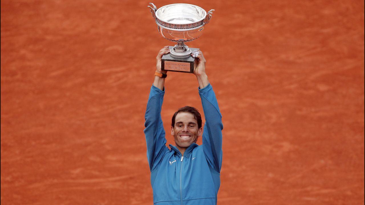 Los once Roland Garros de Nadal, en imágenes.