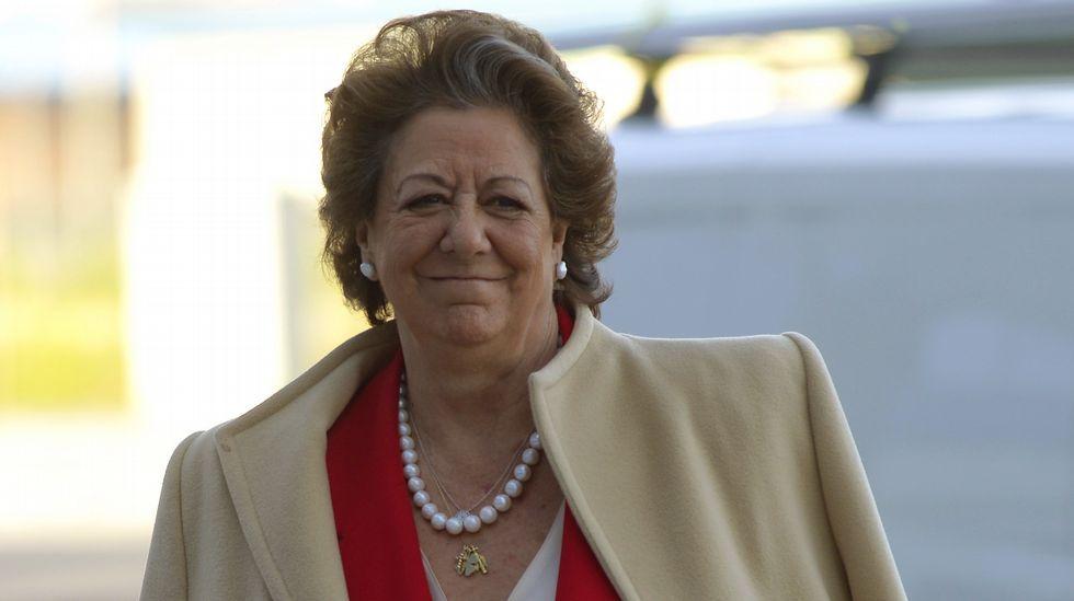 Rita Barberá: «Urdangarín me dijo que Nóos carecía de ánimo de lucro».Audiencia de Patxi López con Felipe VI