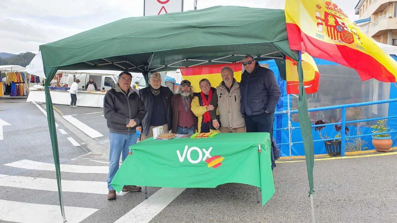 Los cuatro diputados que Ourense.El alcalde de A Coruña, Xulio Ferreiro, en el momento de votar