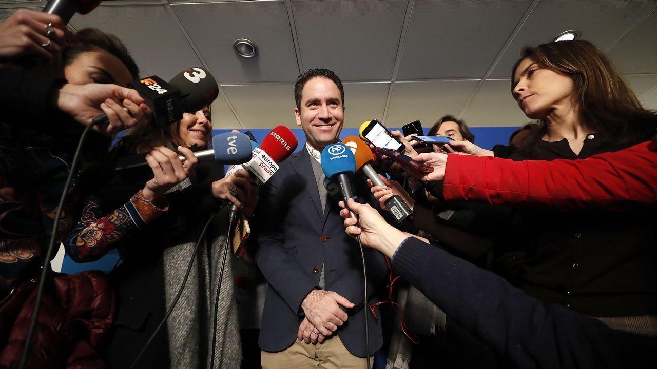 El secretario general del PP, García Egea, afirma que quieren demostrar que son «un partido del siglo XXI»