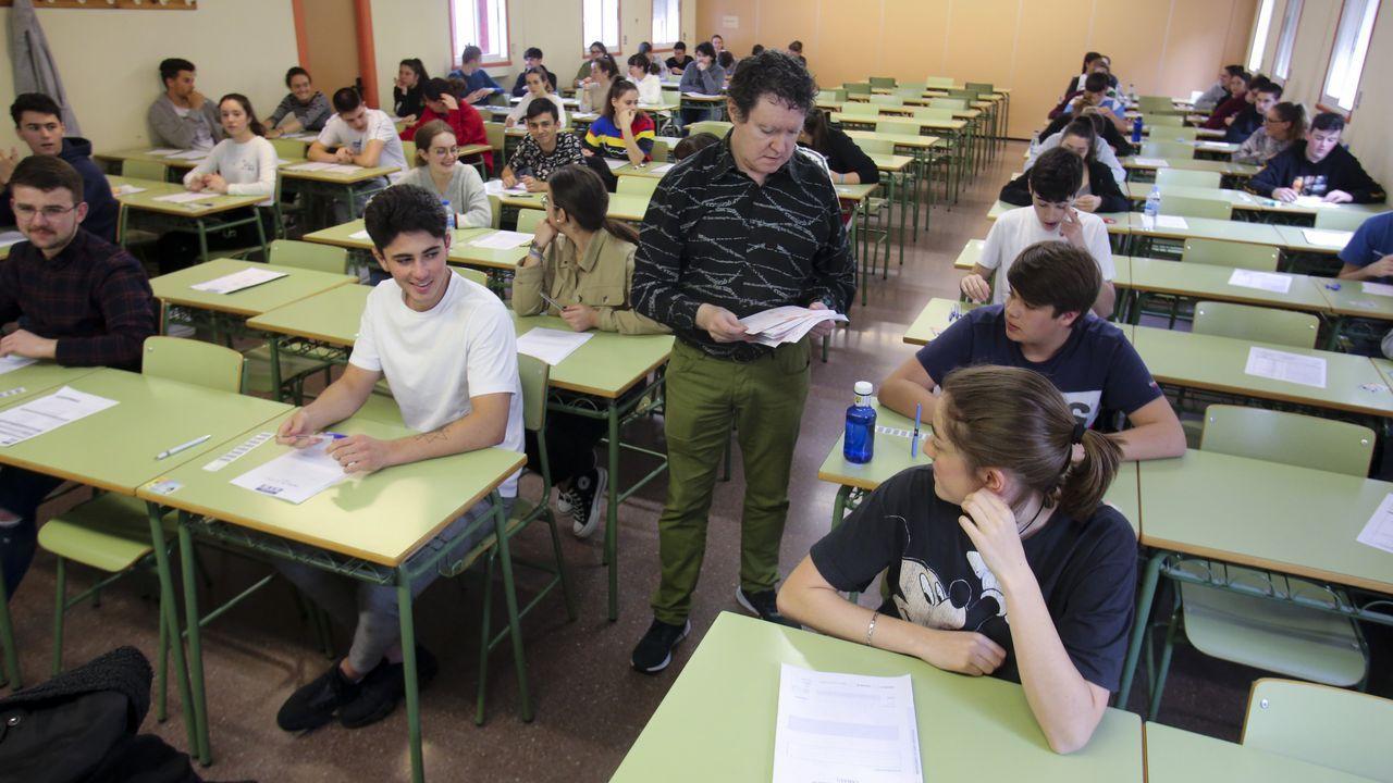 Imagen de las pruebas tomada en la Politécnica de Esteiro el pasado día 12, cuando comenzaron las pruebas