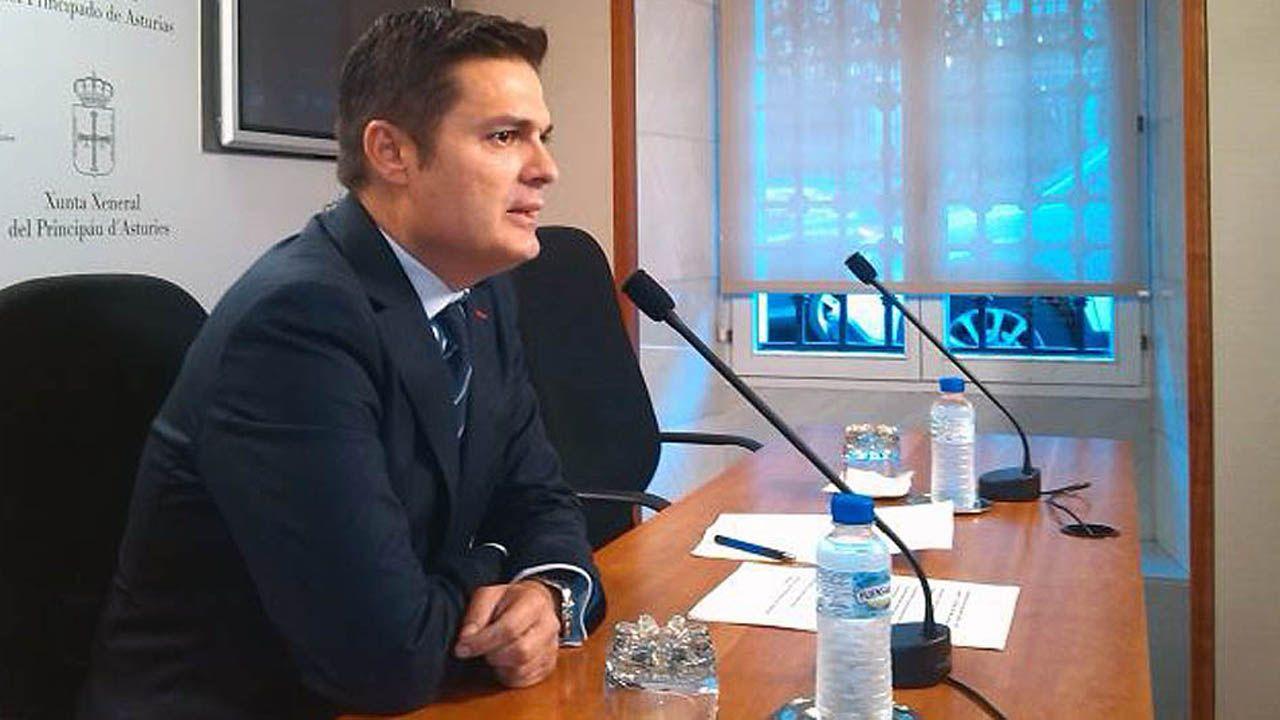 El diputado del PP Pedro Rueda.El diputado del PP Pedro Rueda