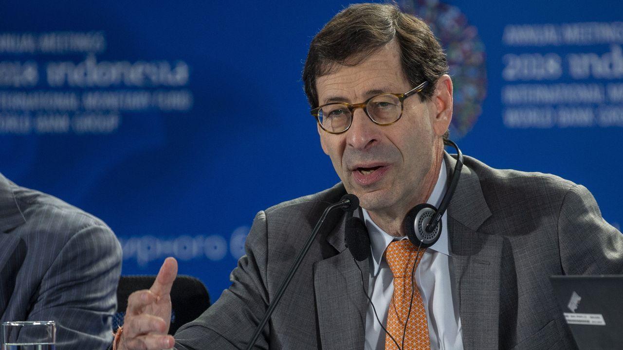 Banqueros en el banquillo.El consejero de Economia del FMI, Maurice Obstfeld