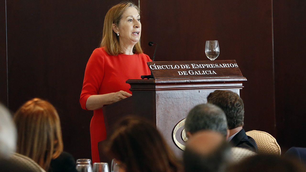 Rajoy en Ribadumia: «No puede haber un referendo, aquí rige la ley».Los presidentes del Congreso y el Senado de ambos países se reunieron ayer en el parador