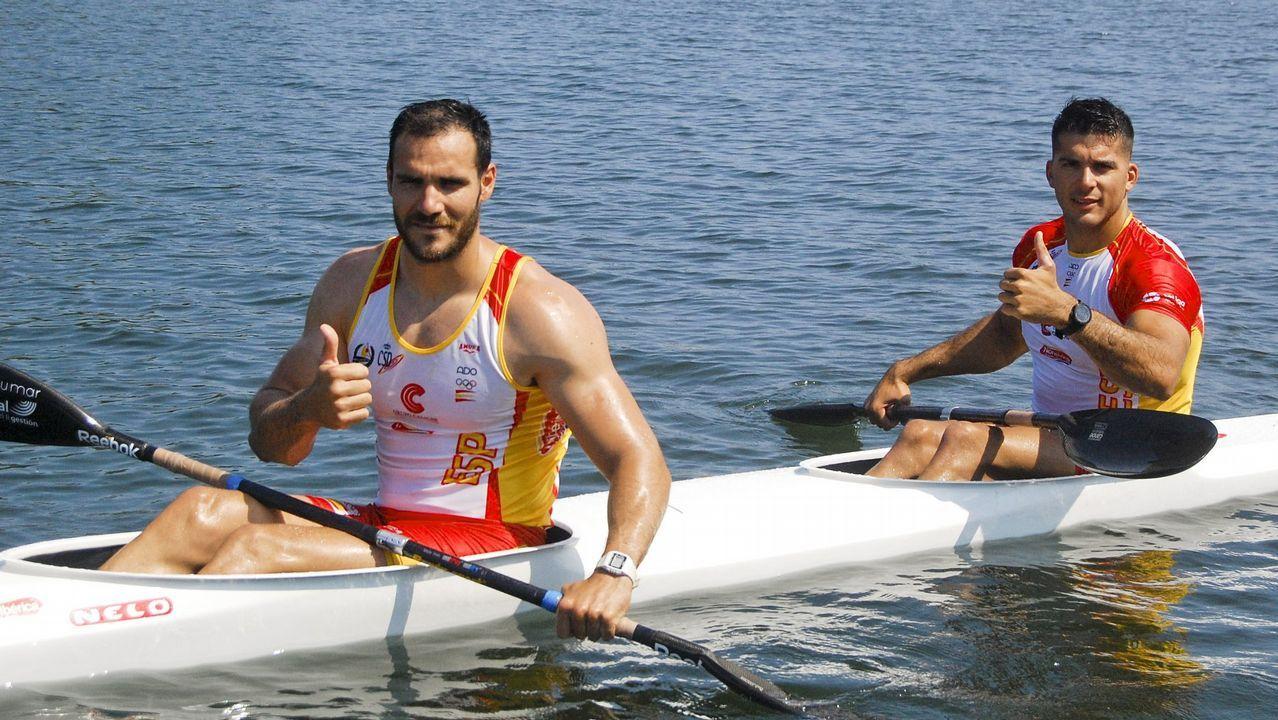 Deportistas gallegos con aspiraciones de ir a los Juegos Olímpicos de Tokio 2020.Saúl Craviotto