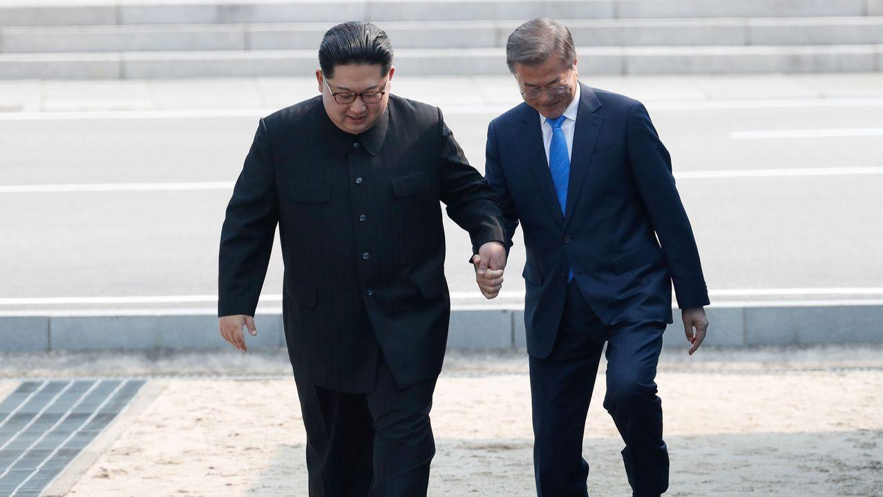 Encuentro histórico entre los líderes de las dos Coreas tras 65 años de conflicto.