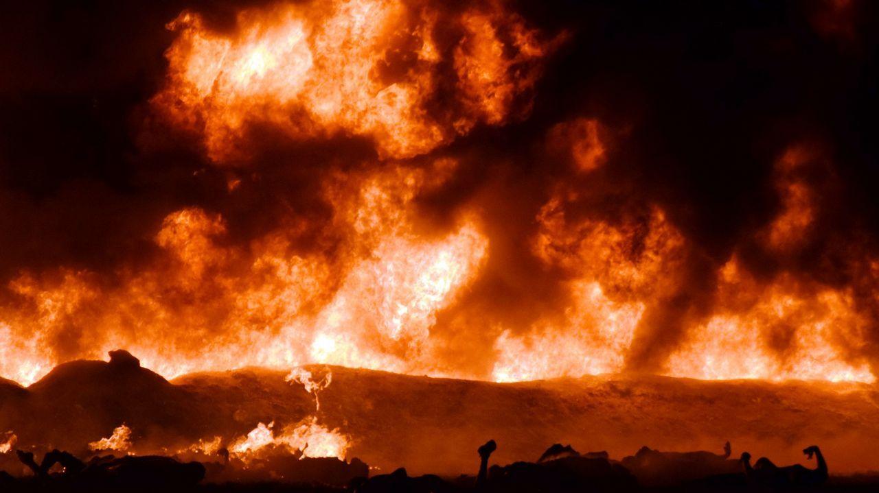 La explosión ocurrió en un oleoducto a unos 100 kilómetros al norte de la capital mexicana