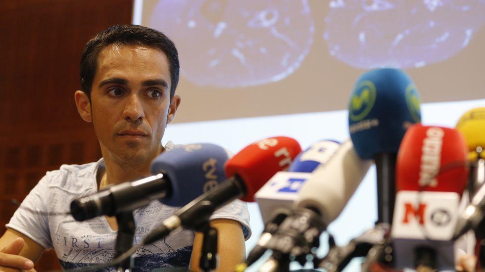 La renuncia de Contador.Dani Navarro