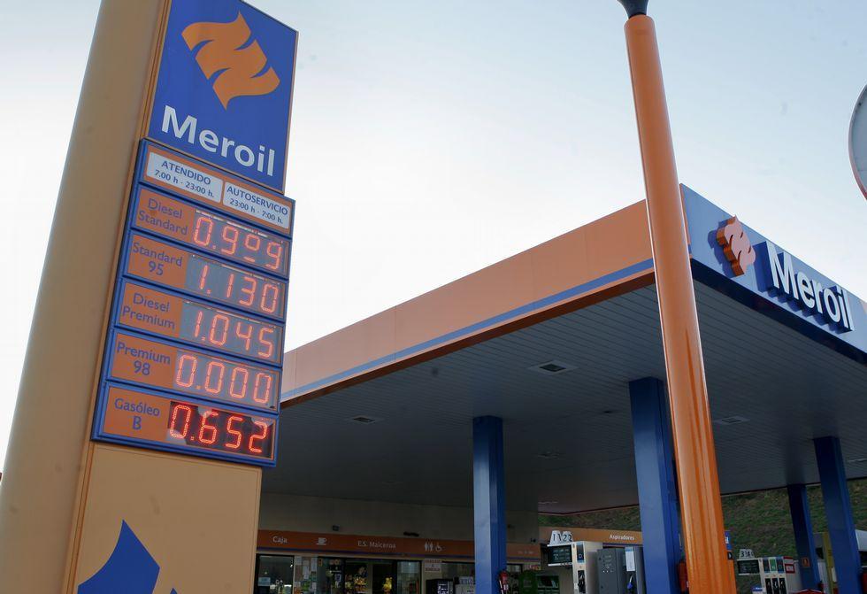 La gasolinera coristanquesa ya tenía el jueves el gasóleo a menos de un euro.