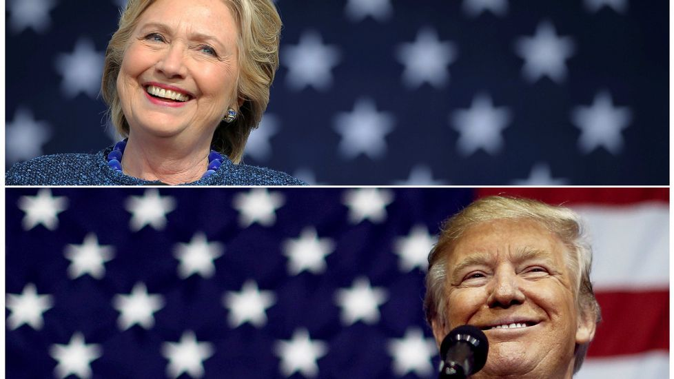 Los jóvenes americanos que viven en Galicia apuestan por Hillary.BRIA WEBB | Reuters