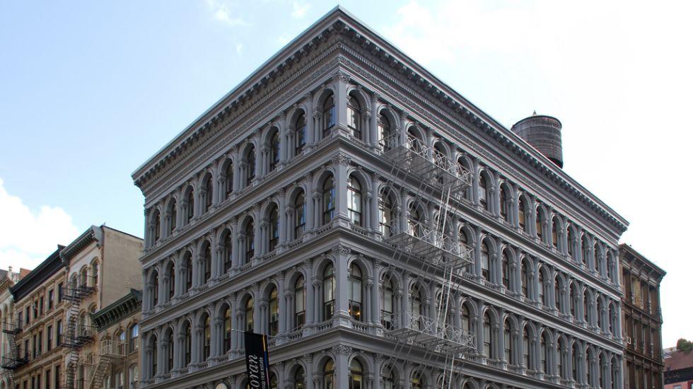 .Edificio Haughwout en Nueva York, por un importe de 145 millones de dólares (133 millones de euros).