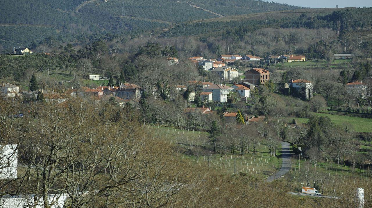Vista de Soutelo de Montes, Forcarei