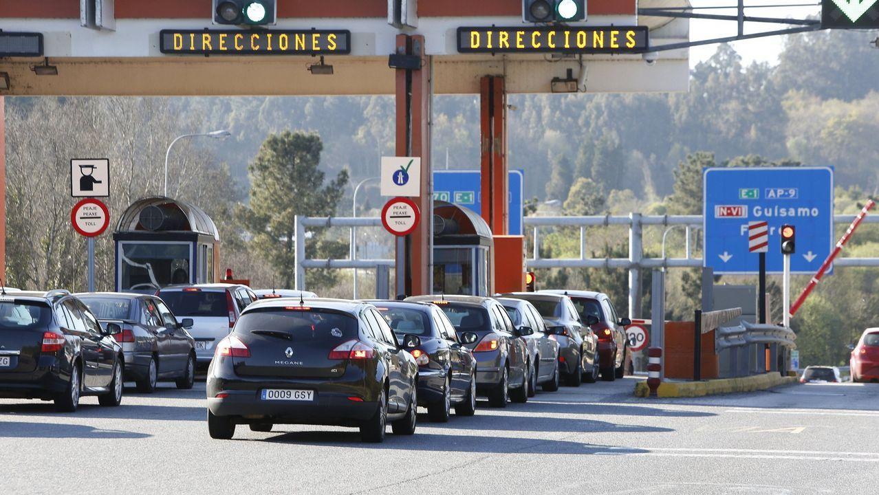 Baja un 30% el precio de los peajes de las radiales madrileñas.El vicepresidente de la Xunta, Alfonso Rueda