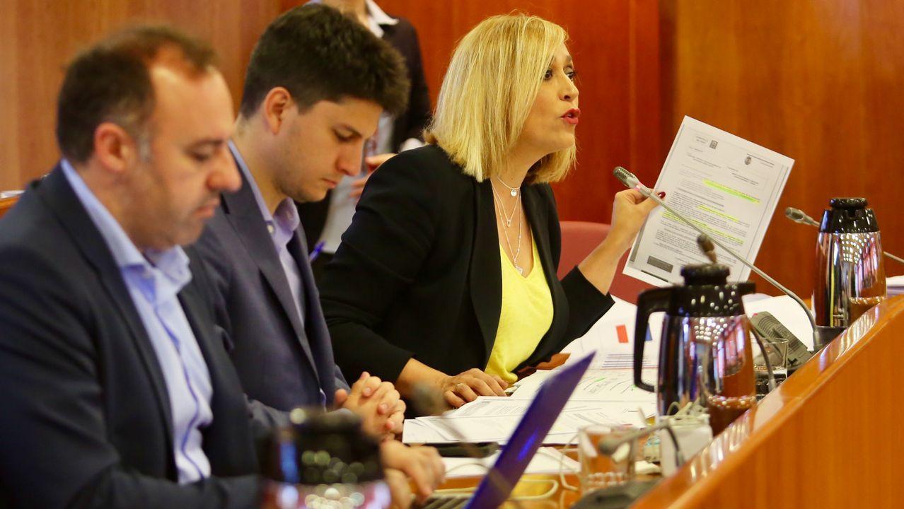Muñoz abronca al gobierno de Caballero por las cuentas de Vigo