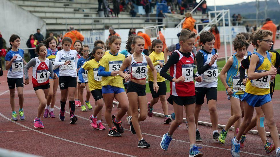 Campeonato de Galicia de marcha en pista en Pobra.