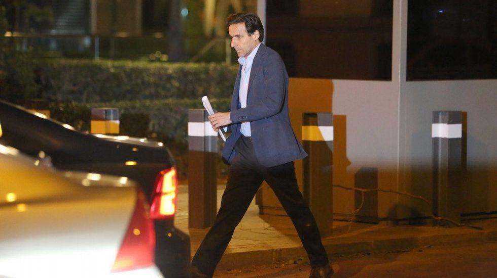 Los más ricos de España.Javier López Madrid, a su salida de la Audiencia Nacional tras pagar una fianza de 100.000 euros.