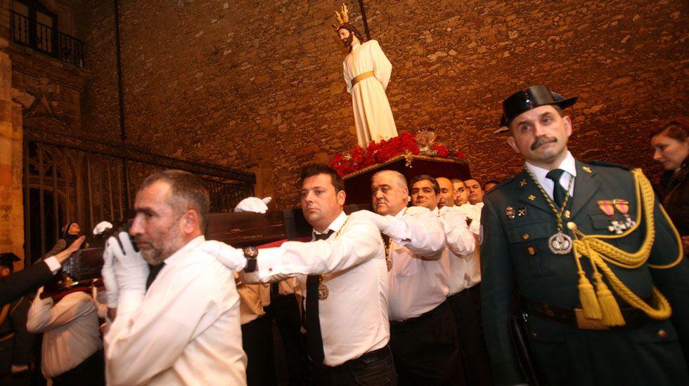 Procesión en Oviedo