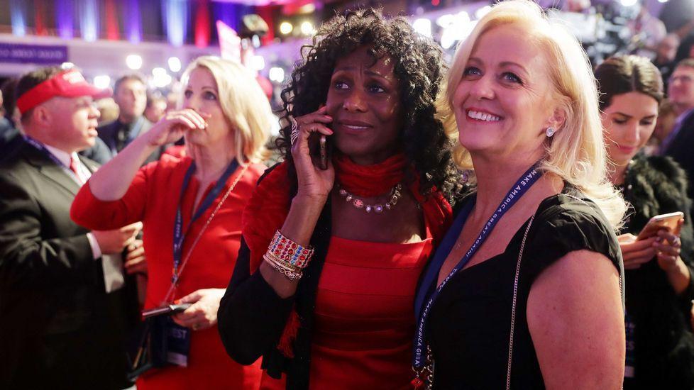 Seguidores republicanos en Nueva York.