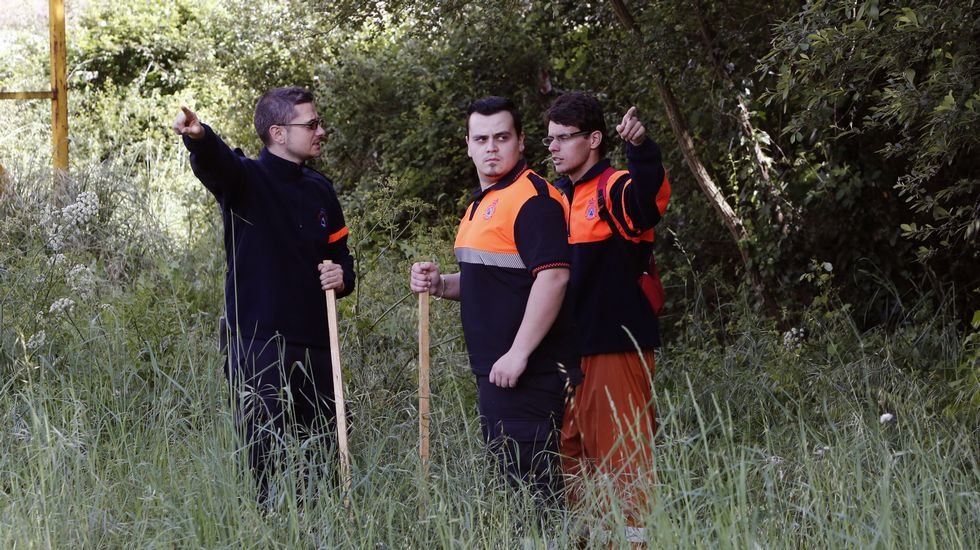 La búsqueda continúa po r los lugares de los alrededores de Ourense por los que solía pasear Socorro Pérez.