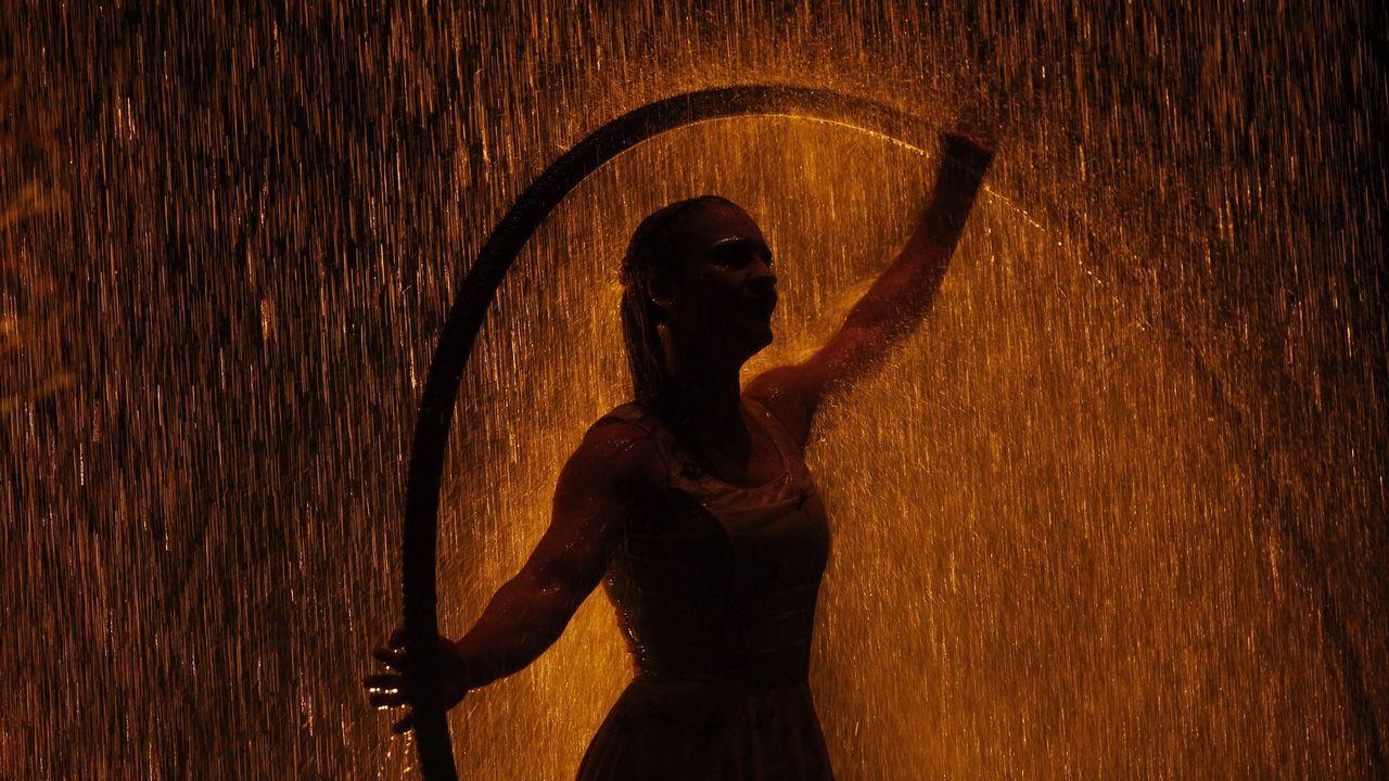 Presentación de un espectáculo del Cirque du Soleil en Ciudad de México