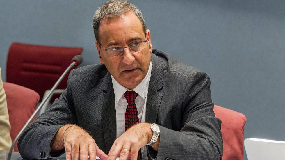 El consejero de Infraestructuras, Ordenación del Territorio y Medio Ambiente, Fernando Lastra