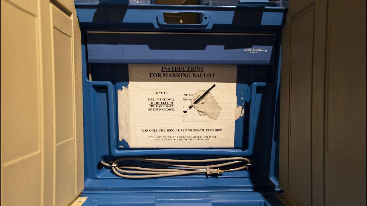 Instrucciones para votar en un colegio de Minneapolis
