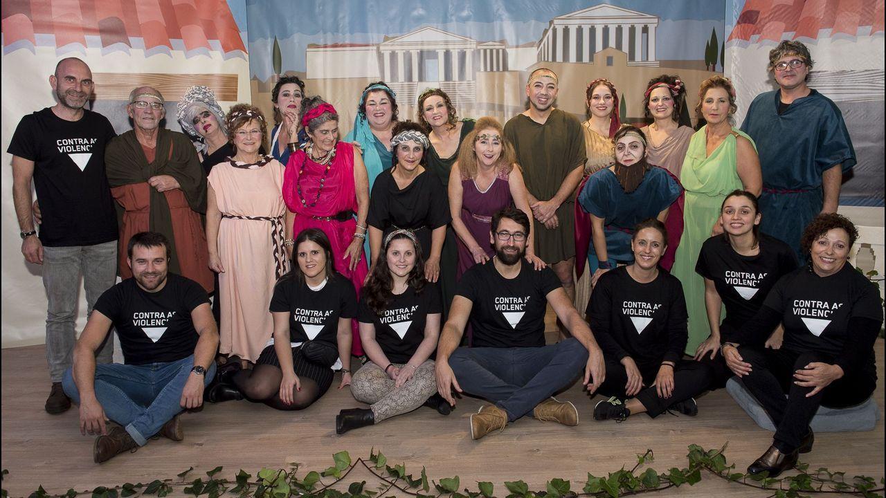 La Escola Municipal de Teatro de Fisterra, y la Rapacollón's Big Band, contra el maltrato