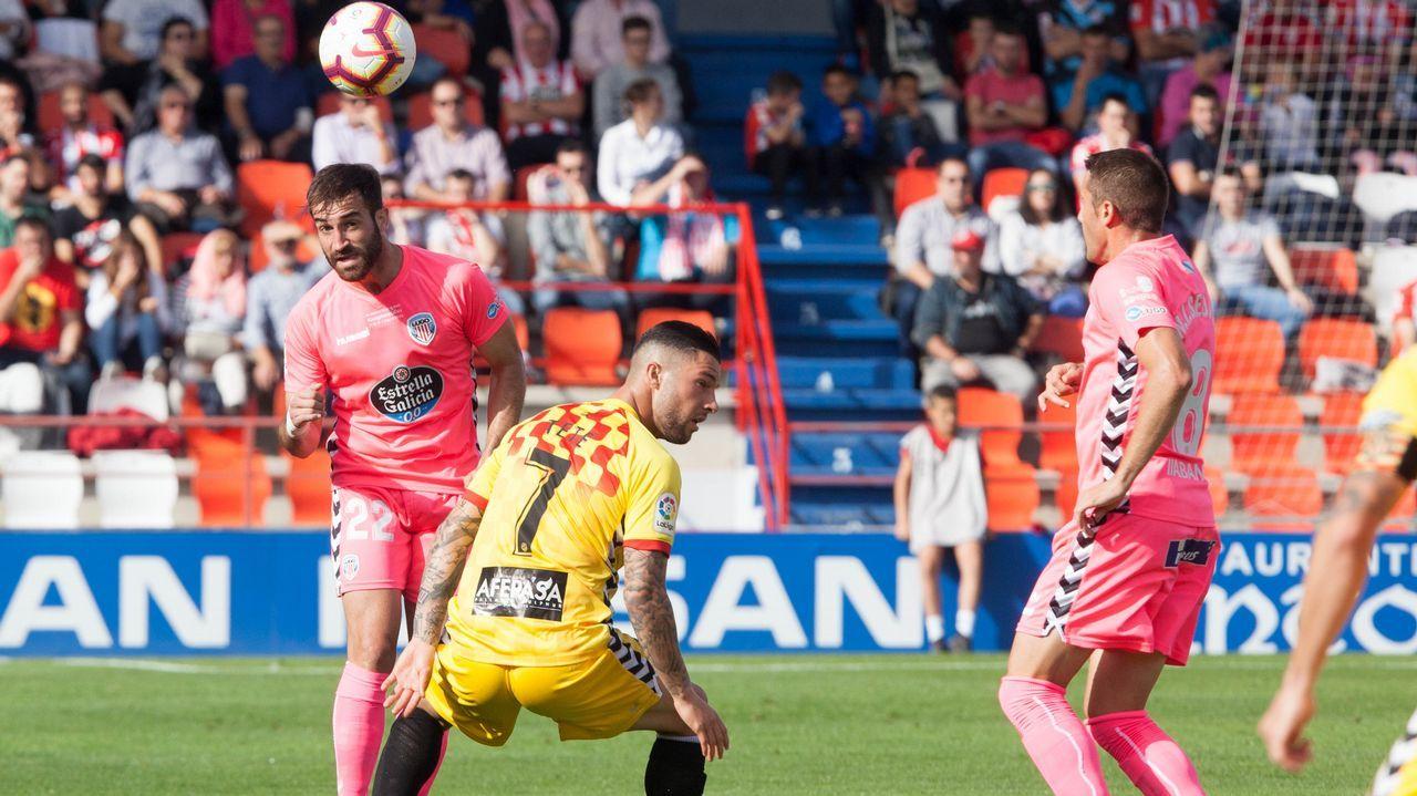 Natxo: «Mientras no te lleven muchos puntos da igual ser primero que cuarto».Fidel pugna con Diegui en un Oviedo-Almería