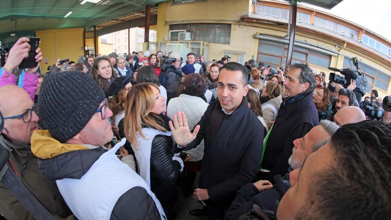 Di Maio expresó su apoyo a los chalecos amarillos a pocos meses de la elecciones europeas