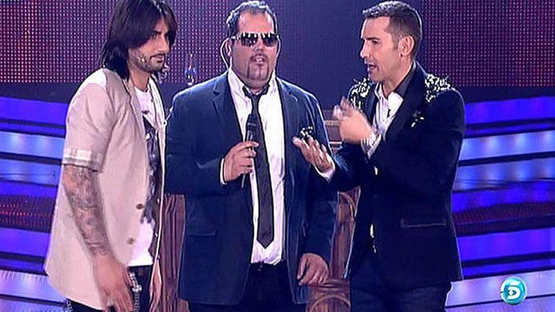 Momento en el que Rosa López se pierde en la canción en «Operación Triunfo».Pau Piqué, Maika Barbero, Rafa Blas y Jorge González aspiran a convertirse esta noche en la mejor voz del país.