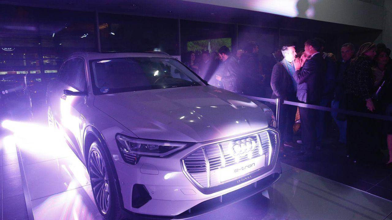 El nuevo concesionario Tartiere Auto en Gijón acogió por primera vez en España la presentación del nuevo Audi e-tron