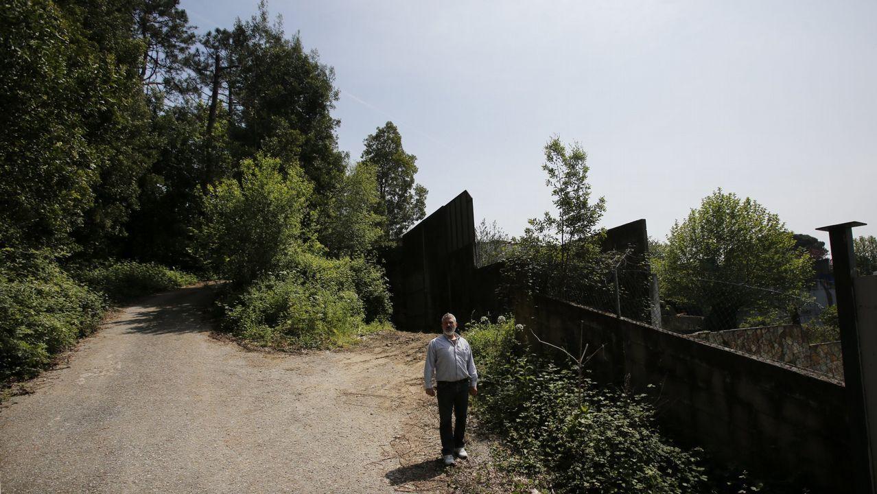 Rajoy anuncia una alternativa al tramo de curvas de la A-55 en Mos.Abel Caballero y Carlos Mouriño