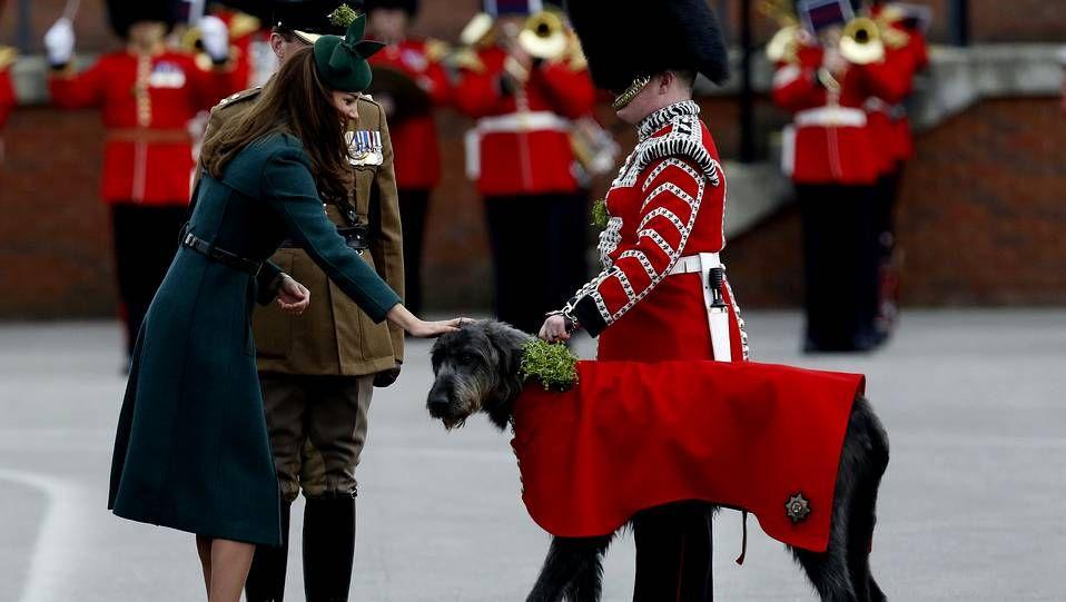 Kate Middleton se «pone» verde