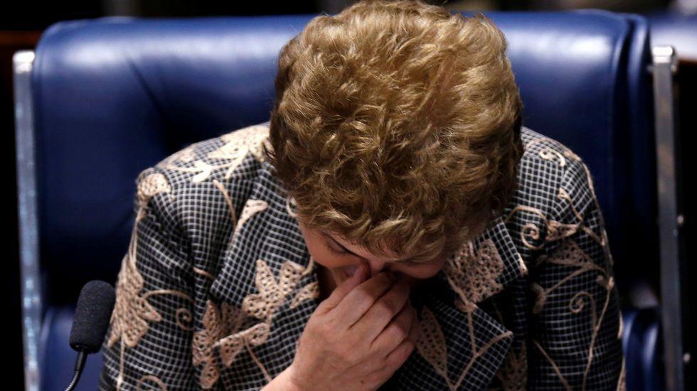 Dilma Rouseff, destituida definitivamente por el Senado como presidenta de Brasil.La consejera de Hacienda de Baleares, Catalina Cladera, a la derecha