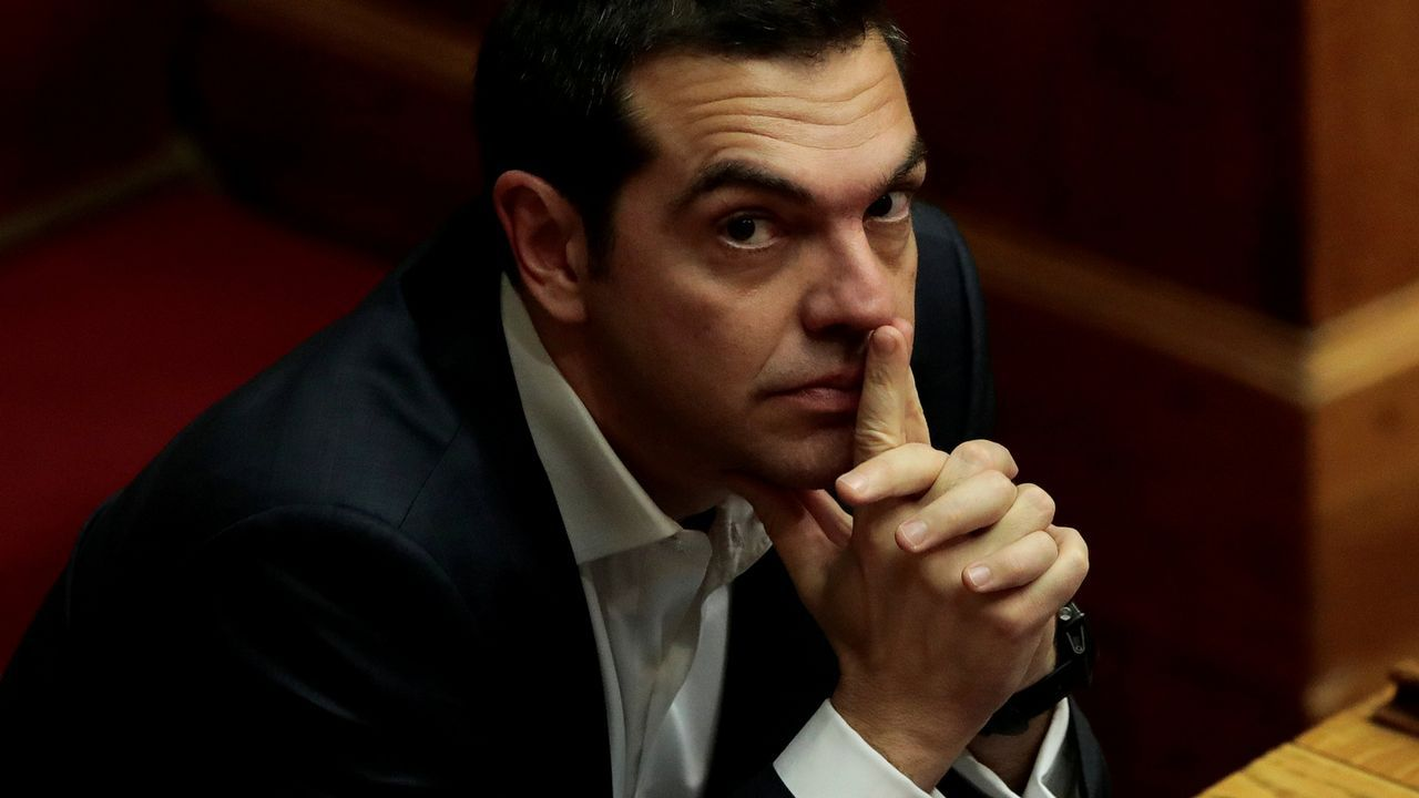 El primer ministro griego, Alexis Tsipras