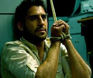 Silvestre en una escena de la serie sobre el «Alakrana».