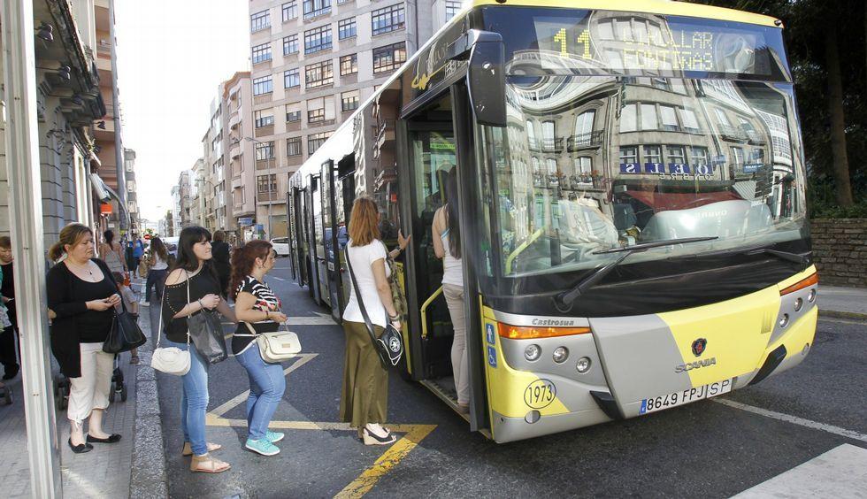 El transporte público urbano encadenó en el 2014 su sexta bajada consecutiva.